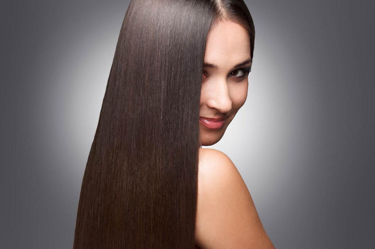 Фото прямых волос у девушек