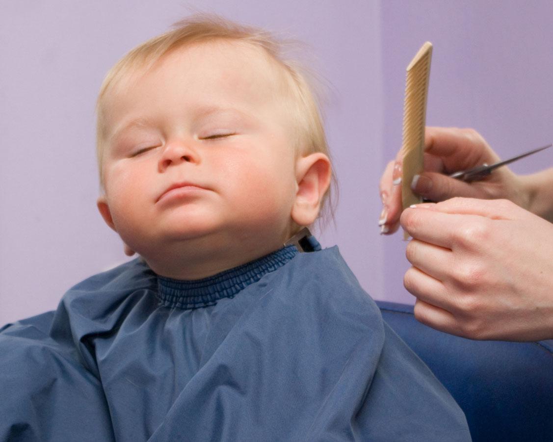 Прическа ребенка в 1 год