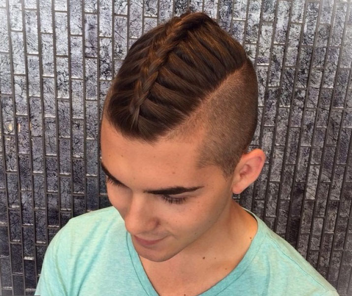 Мужские косички на короткие волосы