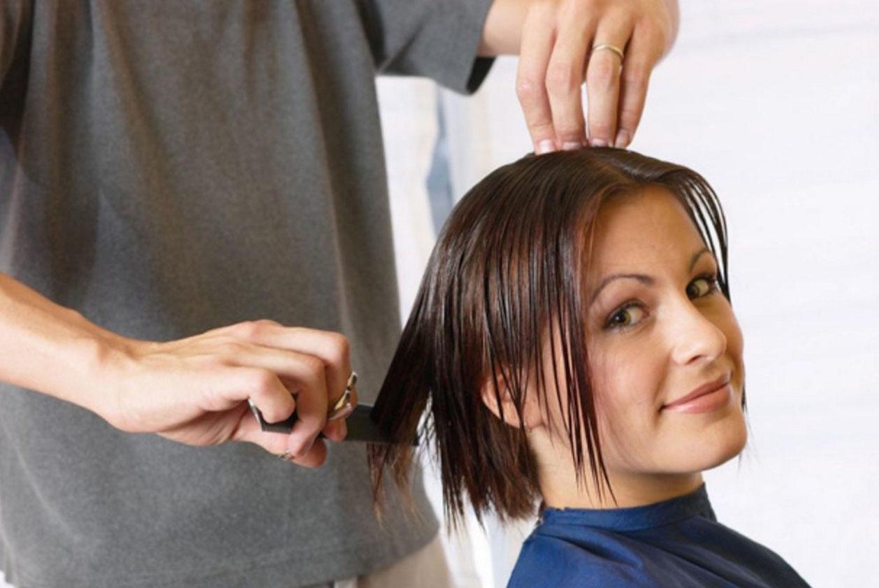 Прическа на редкие волосы