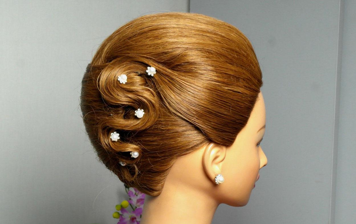 Фото причесок ракушка на средние волосы