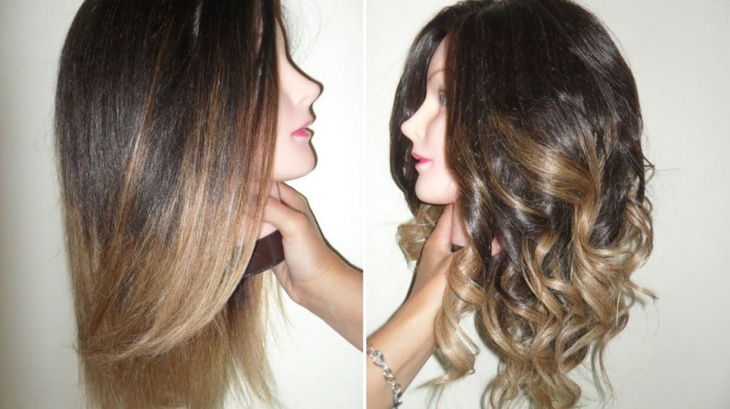 Покрасить волосы омбре в домашних условиях быстро