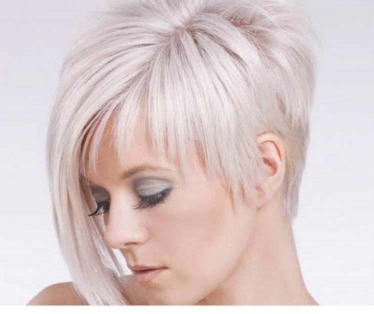 Ассиметричные женские стрижки на короткие волосы