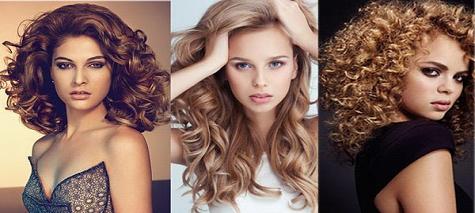 Девушки с вьющимися волосам