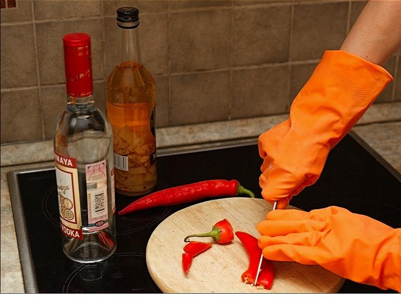 Как сделать настойку с перцем