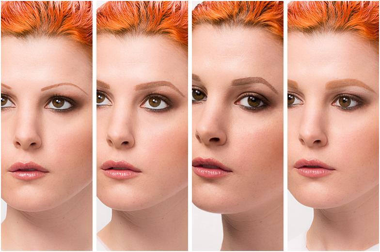 как меняют внешность брови фото
