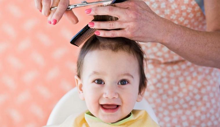 Как сделать прическу ребенку до года