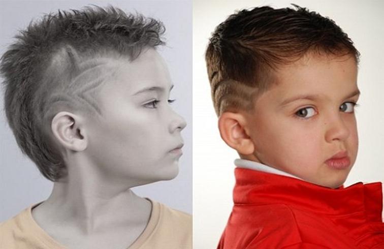 Как сделать мальчику причёску
