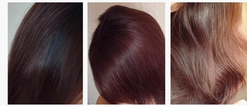 морозно каштановый цвет волос фото