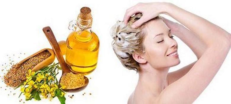 Маска для волос в домашних горчицей условиях для укрепления волос