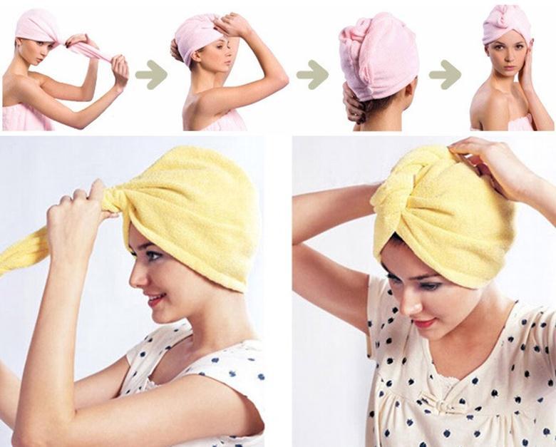 Чалма полотенце своими руками