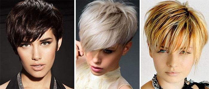 Модные стрижки для коротких волос и тонких волос