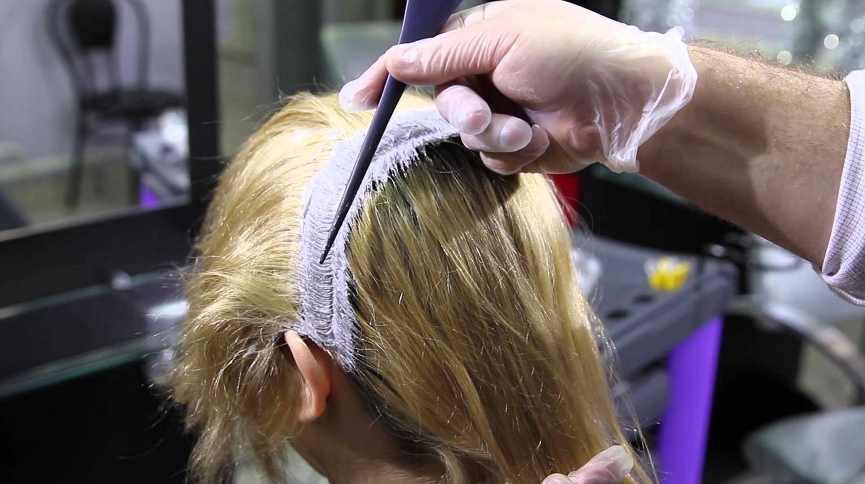 Красим волосы в домашних условиях эстель 77