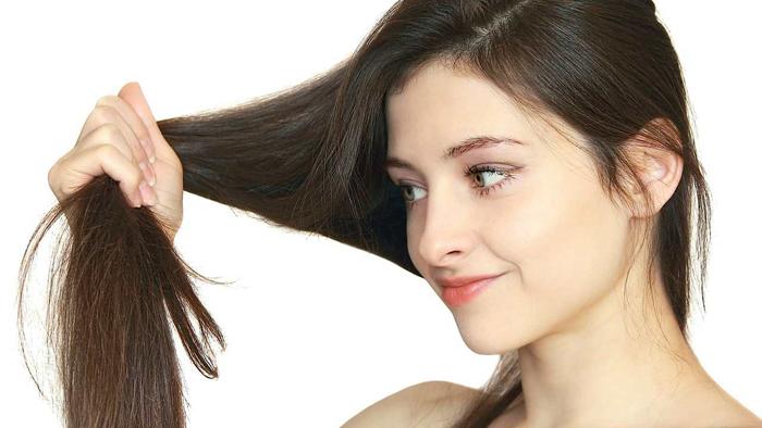 Убрать пушистость волос с помощью масел
