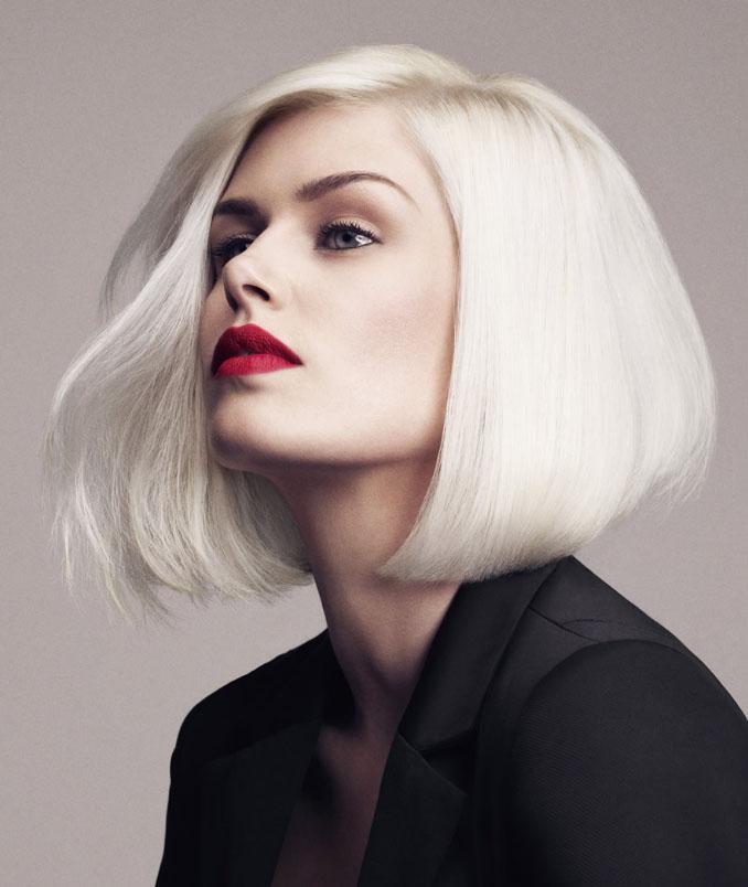 Белоснежный цвет волос