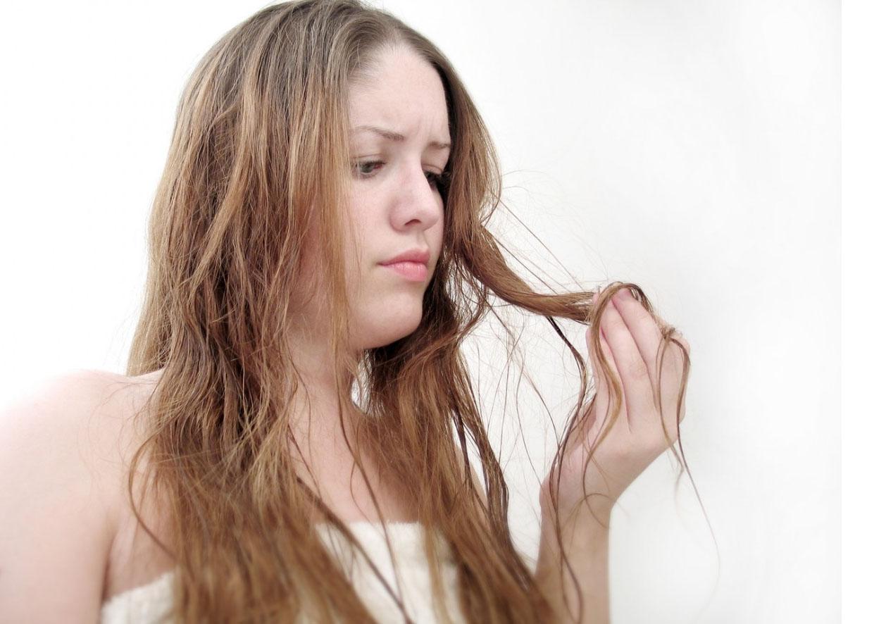 Очень сильное выпадение волос у подростков