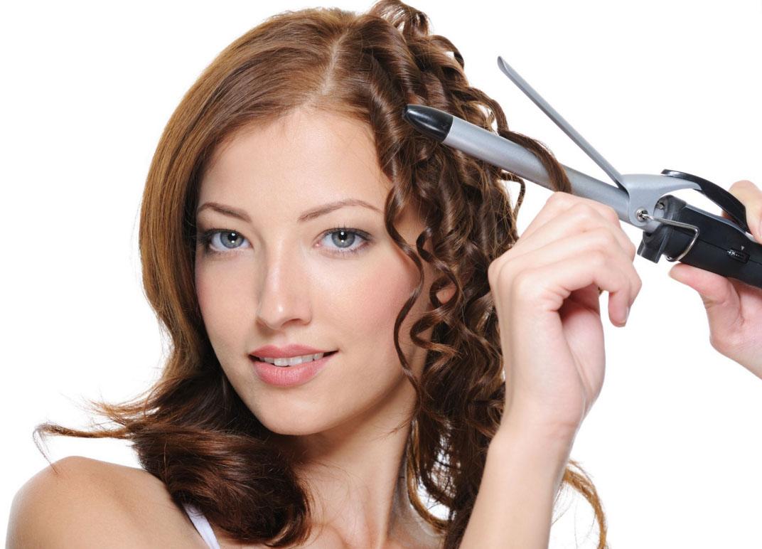 Накрутить волосы на плойку в домашних условиях