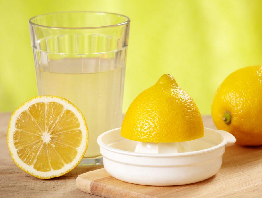 Сок свежих лимонов