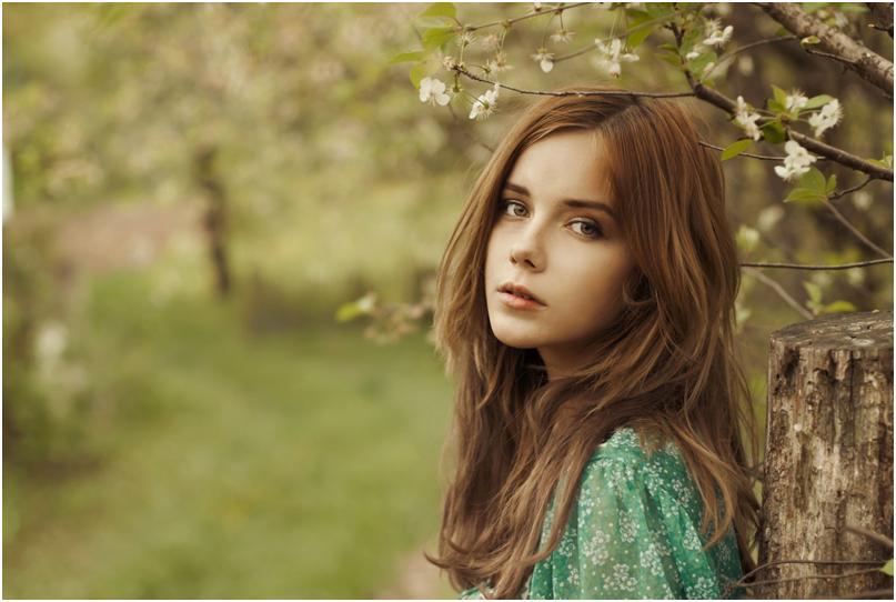 русые красивые девушки фото