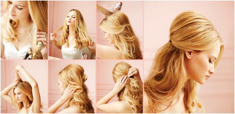 прически на длинные волосы чтобы закрыть уши