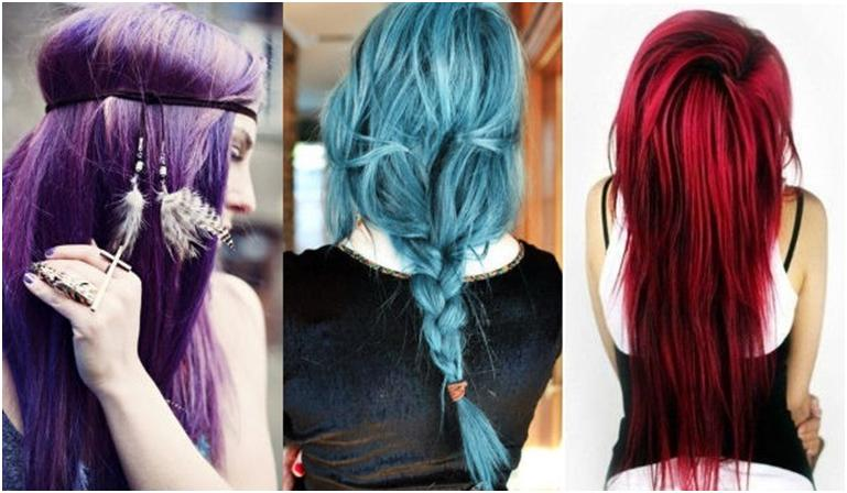 временная краска для волос смываемая водой