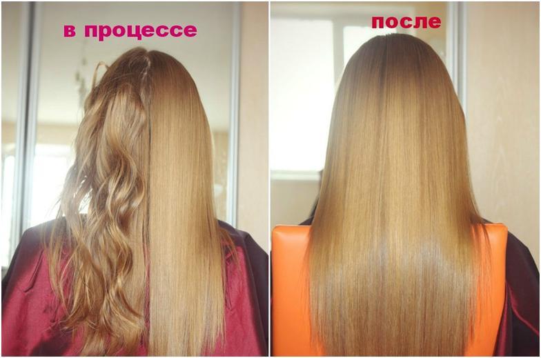 какие будут волосы от кератинового выпрямления