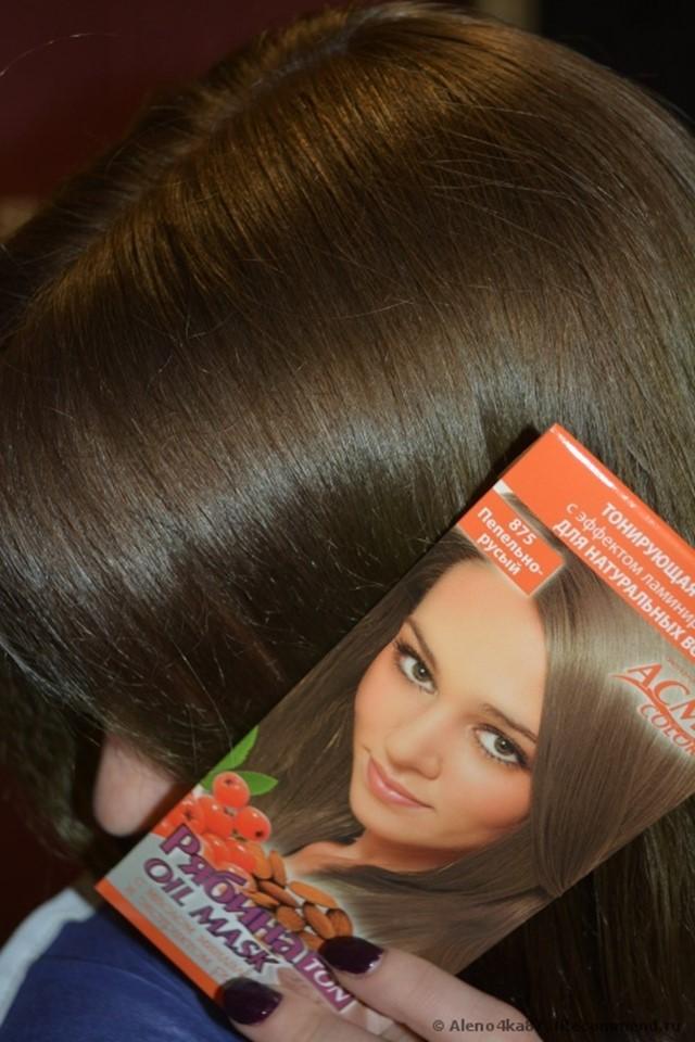 Женщина с окрашиными волосами