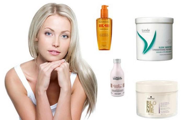 Лечение обесцвеченных волос в домашних условиях