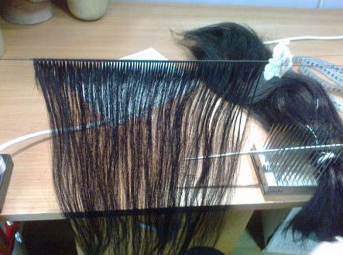 Парик из натуральных волос сделать
