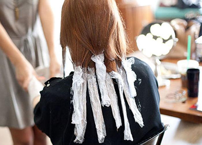 Как покрасить волосы в омбре в домашних  968