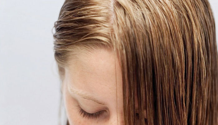 Как волосы сделать менее жирными