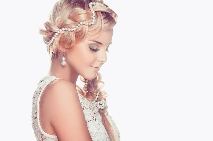 Свадебные прически на длинные волосы с украшениями