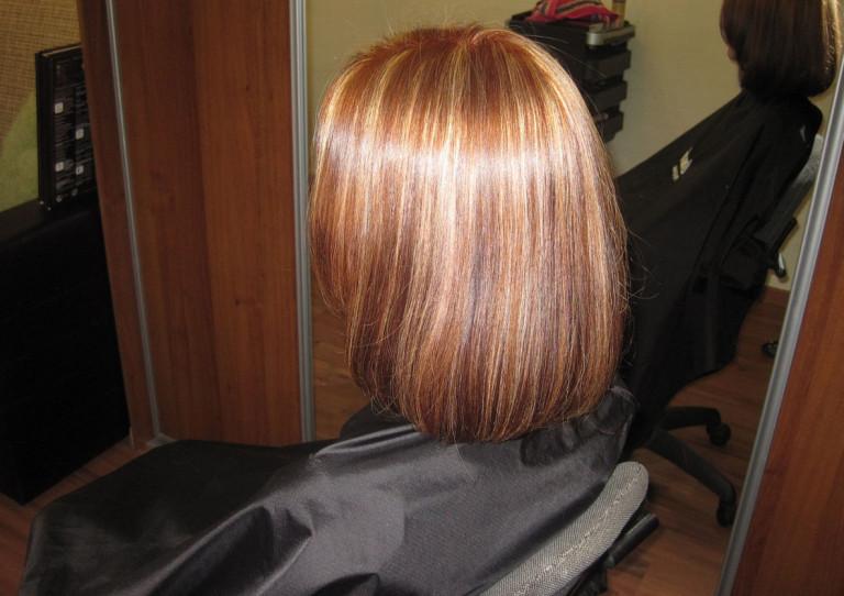 Виды тонирования волос фото