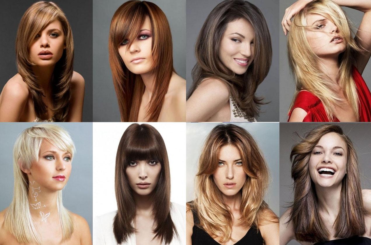 Виды причесок женских фото длинные волосы