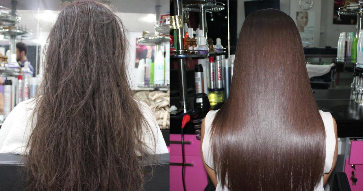 Кератиновое восстановление волос 70