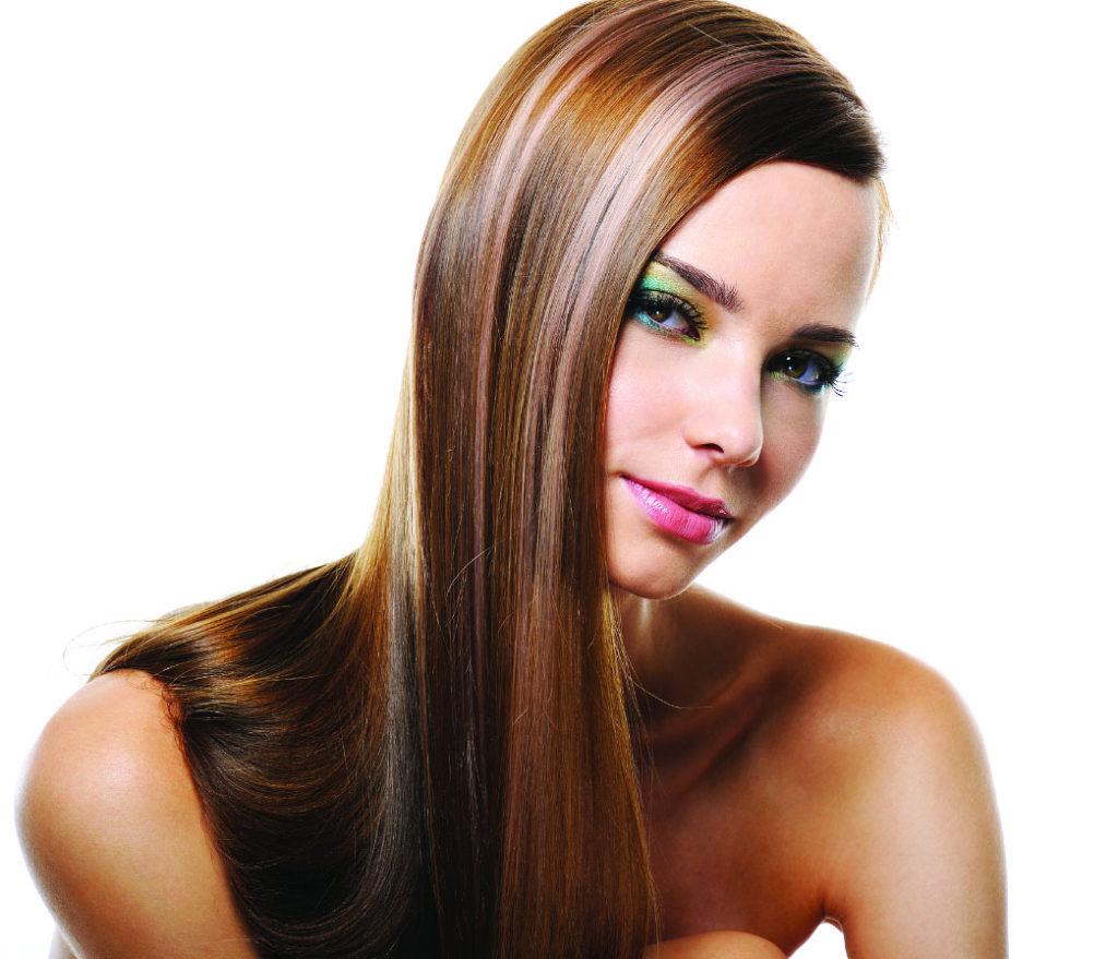 Фото девушек с колорированием волос