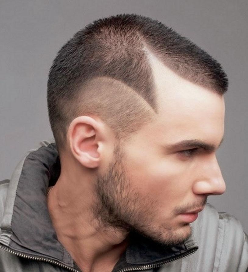 Самые модные стрижки мужские на короткие волосы