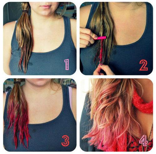 Цветные мелки (пастель) для волос: цена, как правильно покрасить ими локоны