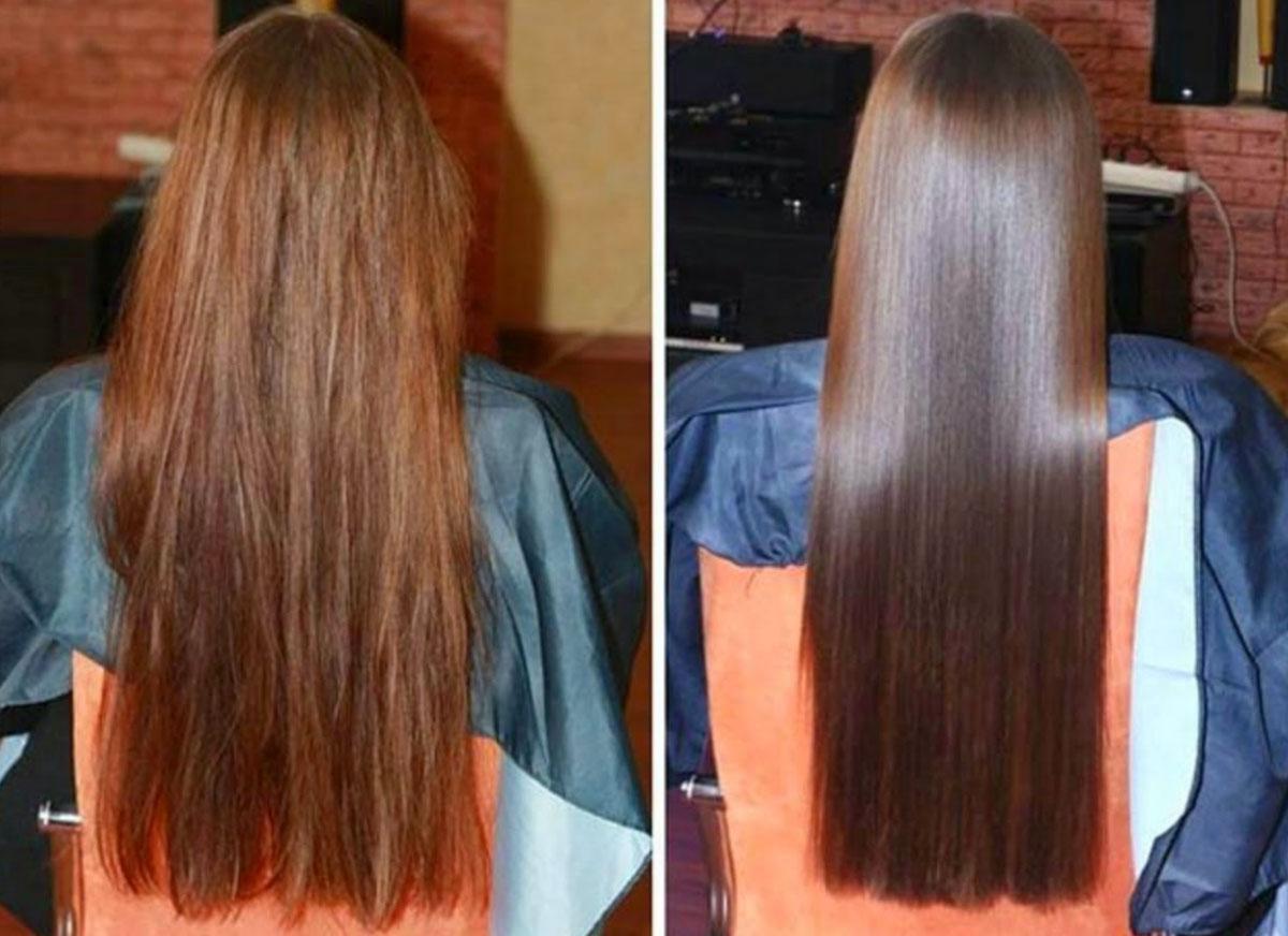 После бразильской технологии кератинового выпрямления волос