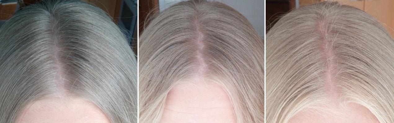 Поэтапное осветление волос
