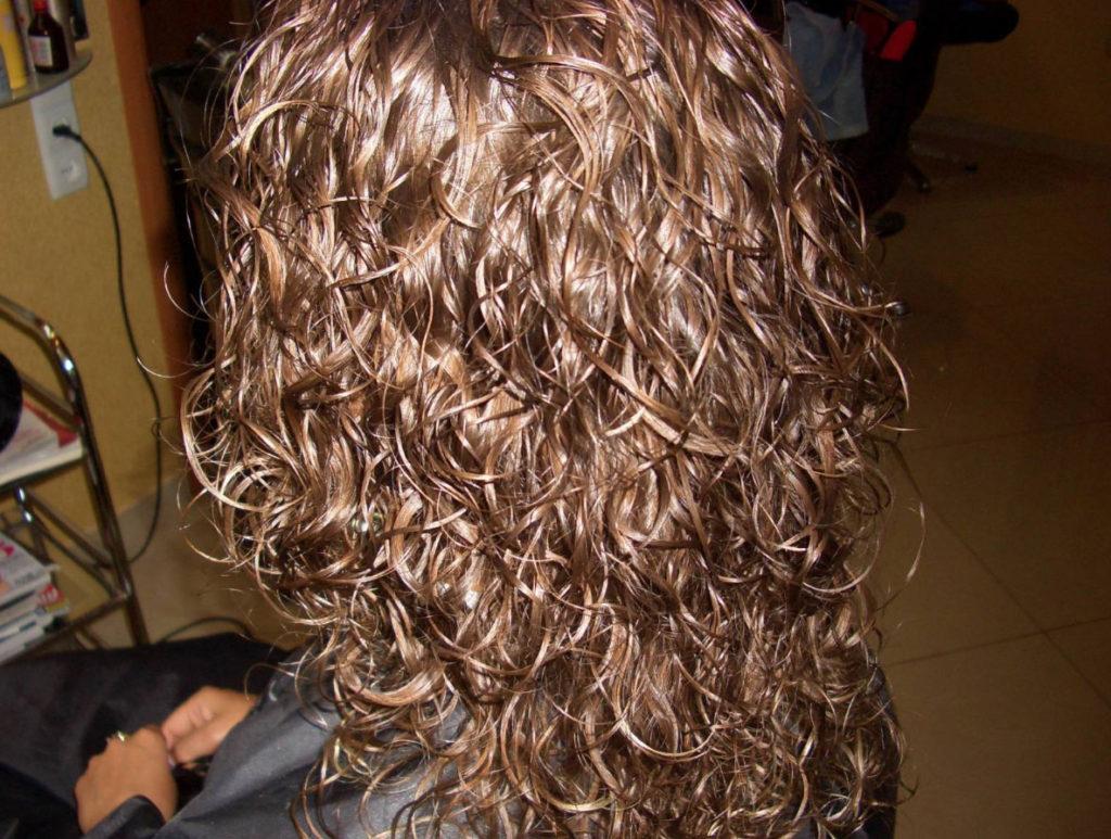 Прически на волосы с биозавивкой фото
