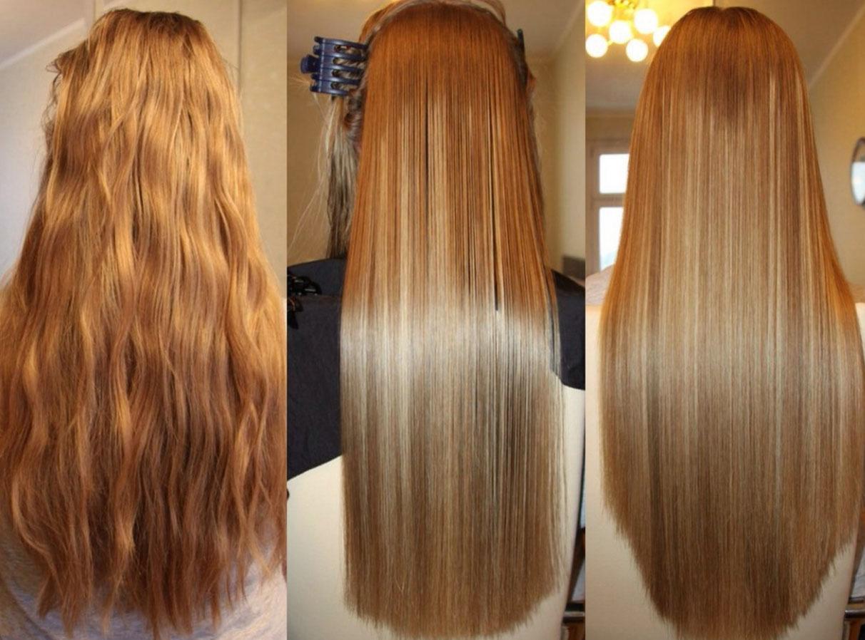 бразильский метод выпрямления волос