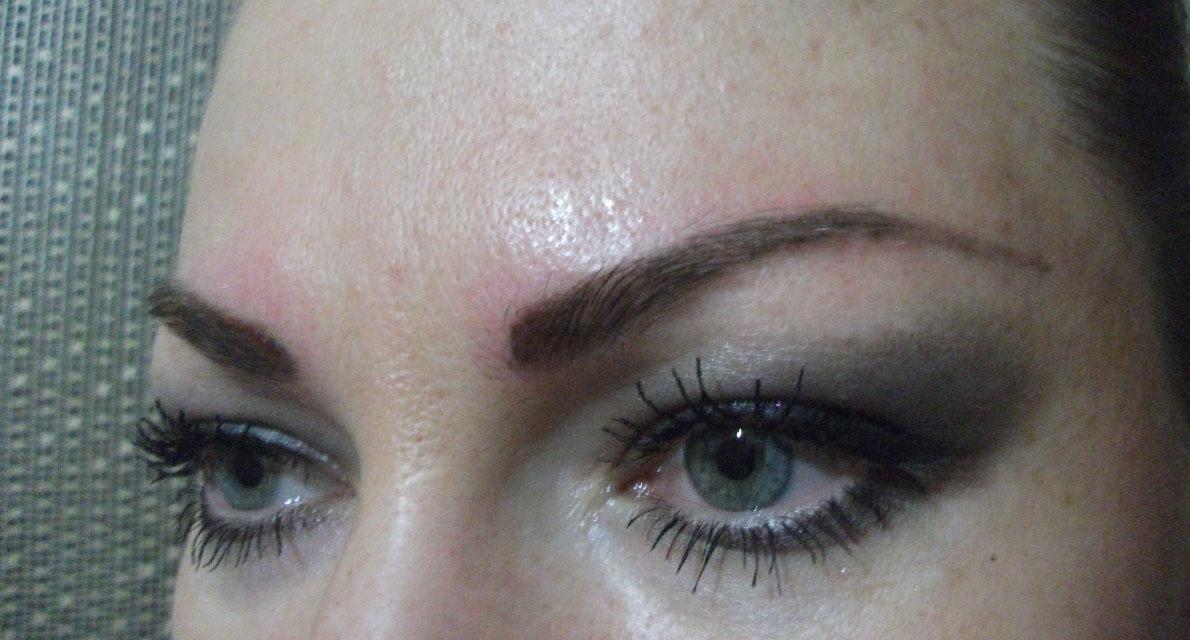 заживления после перманентного макияжа бровей