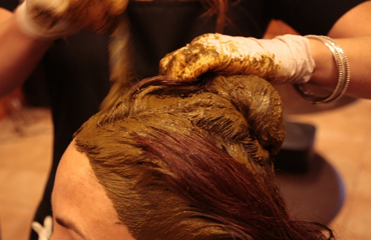 Как покрасить волосы хной в разные цвета и оттенки 78