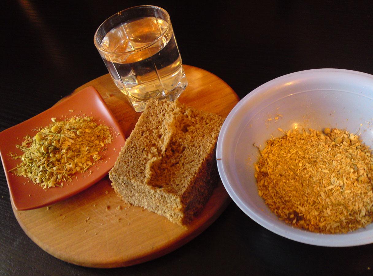 Маска из черного хлеба для волос рецепт