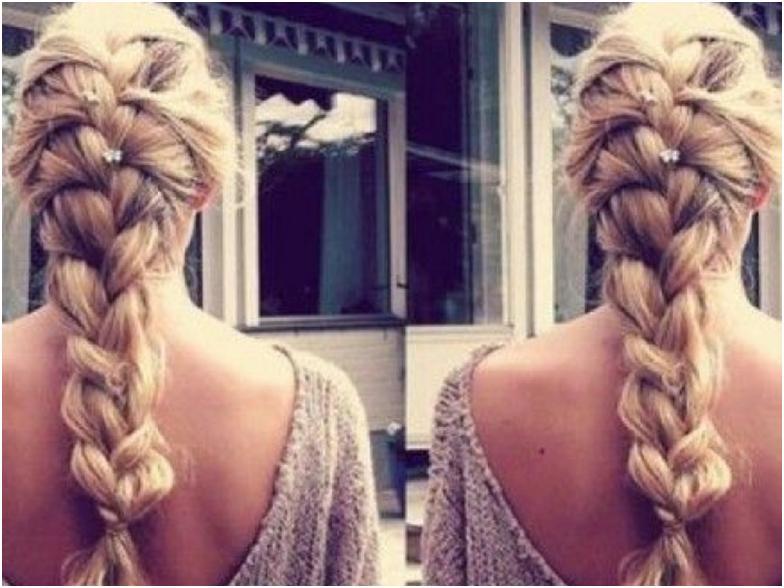 Косы на длинные волосы фото и схемы