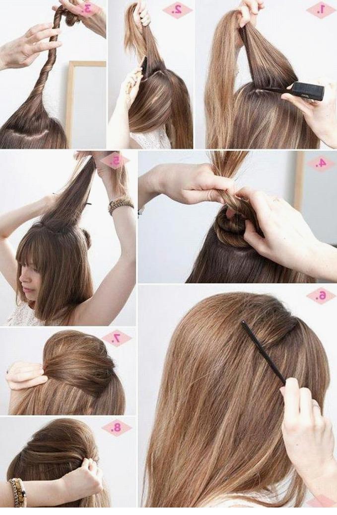 Как придать волосам объем у корней в домашних условиях при помощи утюжков