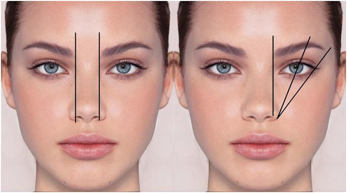 Как сделать брови по форме лица фото