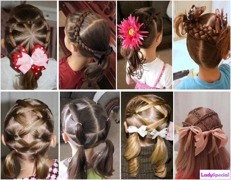 Красивые прически на маленькие волосы
