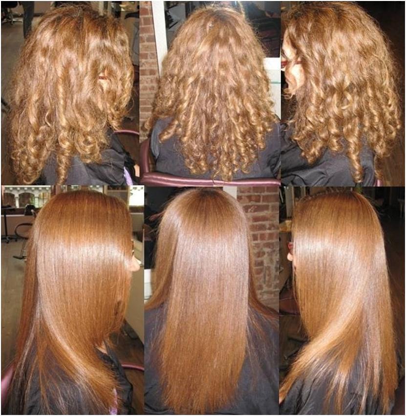Кератиновое выпрямление волос как сделать в домашних условиях 4